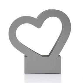 Cutii cu mâner inimă - gri 3 - craftup.ro