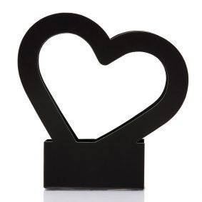 Cutii cu mâner inimă - negru 2 - craftup.ro