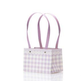 Cutii cu mâner model picnic - mov 1 - craftup.ro