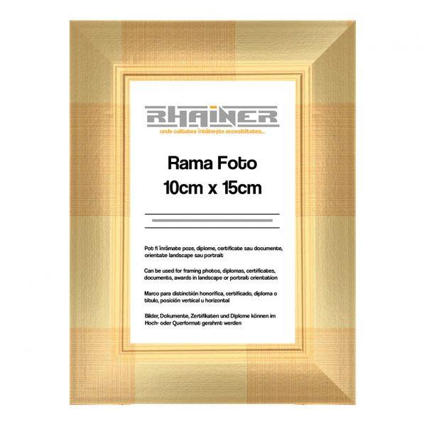 Rama foto 10x15cm - Madrid auriu 1