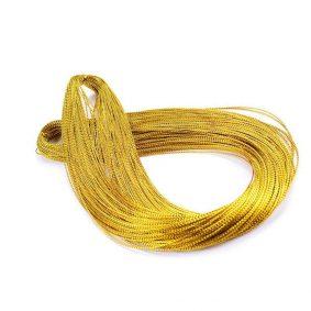 Șnur metalic auriu 1mm