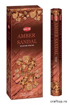 Bețișoare parfumate -Amber Sandal