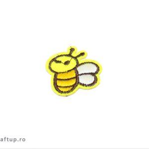 Aplicații termoadezive - albinuță - PTW13 - craftup.ro