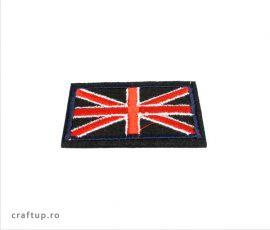 Aplicații termoadezive - steag Anglia - PTW6 - craftup.ro