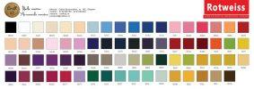 Ata de brodat catalog culori