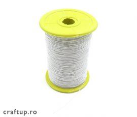 Ață elastică - alb1 - craftup.ro