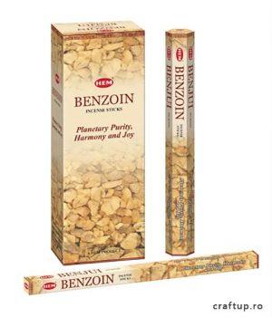 Bețișoare parfumate HEM - Benzoin