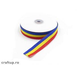 Bandă tricolor 2cm - craftup.ro