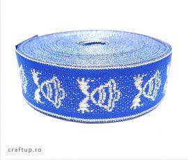 Bandă decorativă Cristina 25mm- albastru