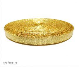 Bandă decorativă Evelina 10mm - Auriu