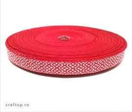 Bandă decorativă Ludovica 12mm - Roșu