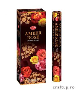 Bețișoare parfumate HEM - Amber Rose