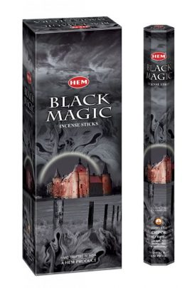Bețișoare parfumate HEM - BLACK MAGIC - craftup.ro