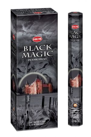Bețișoare parfumate HEM - BLACK MAGIC - craftup.ro