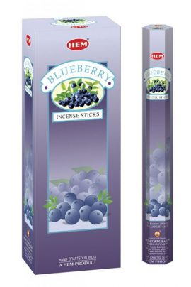 Bețișoare parfumate HEM - BLUEBERRY - craftup.ro