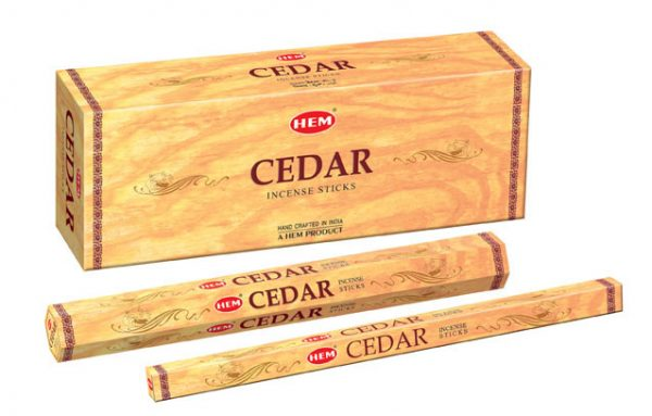 Bețișoare parfumate HEM - CEDAR - craftup.ro