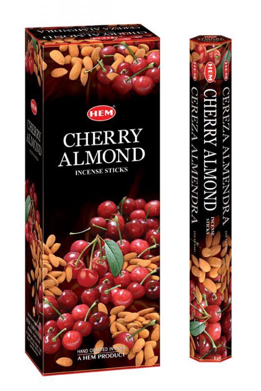 Bețișoare parfumate HEM - CHERRY ALMOND - craftup.ro