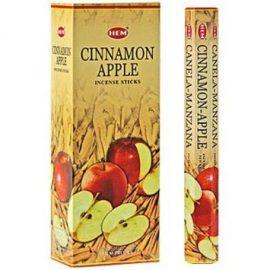 Bețișoare parfumate HEM - CINNAMON APPLE - craftup.ro
