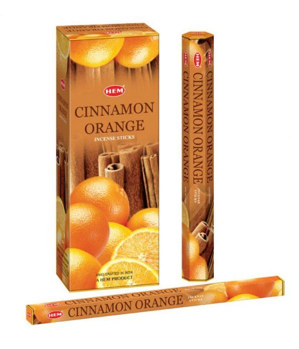 Bețișoare parfumate HEM - CINNAMON ORANGE - craftup.ro