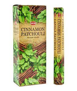 Bețișoare parfumate HEM - CINNAMON PATCHOULI - craftup.ro