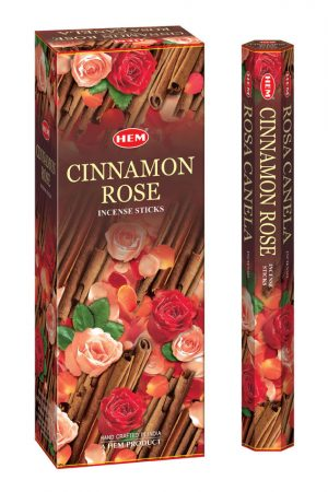 Bețișoare parfumate HEM - CINNAMON ROSE - craftup.ro