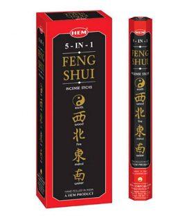 Bețișoare parfumate HEM - Feng Shui 5 in 1