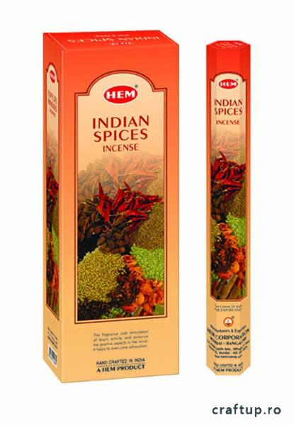 Bețișoare parfumate HEM - Indian Spices