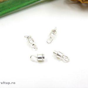 Închizători cu șurub - argintiu