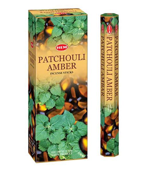 Bețișoare parfumate HEM - Patchouli Amber