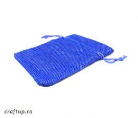 Săculeți textil dreptunghiulari - albastru - craftup.ro