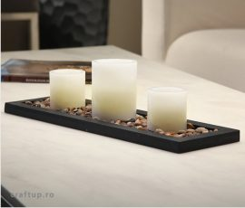 Set 3 lumanari LED decorative - Cashel Living - 1 - LUMPTR - craftup.ro