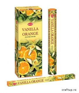 Bețișoare parfumate HEM - Vanilla Orange