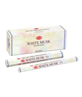 Bețișoare parfumate HEM - White Musk
