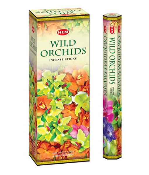 Bețișoare parfumate HEM - Wild Orchids